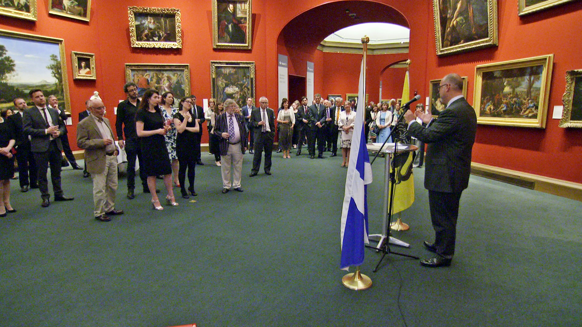 Flanders Day in Scottish National Gallery