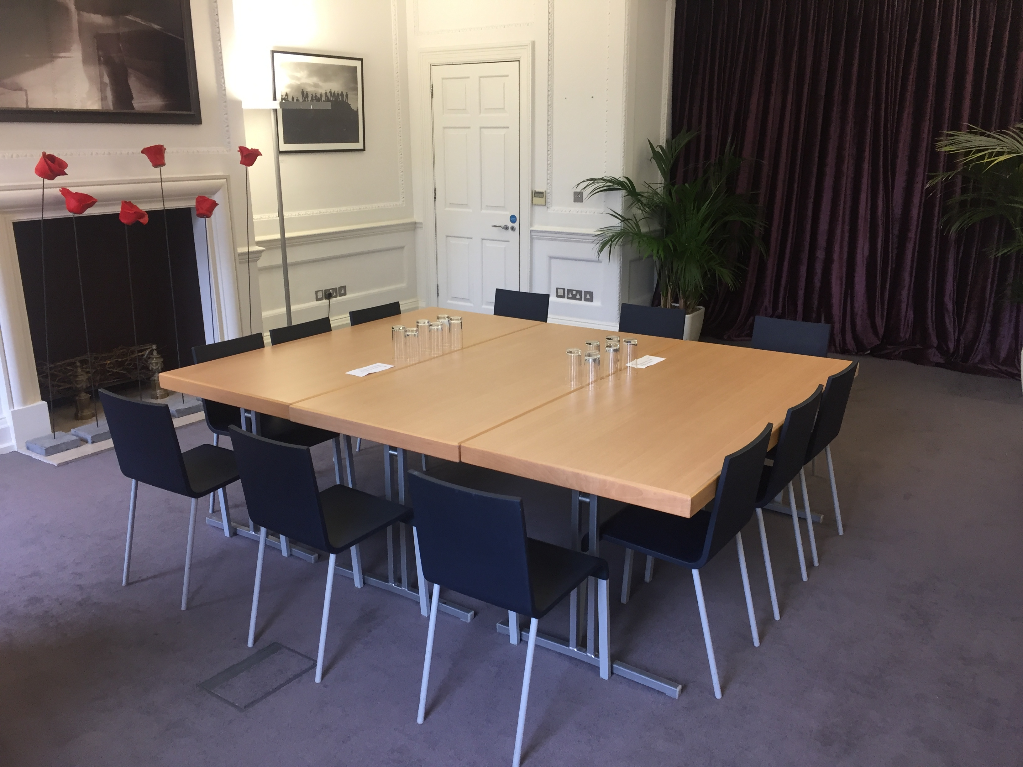 Flanders House - large room boardroom style 1